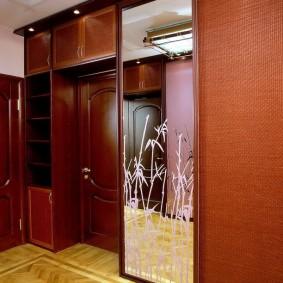 шкаф купе 40 см в прихожую дизайн