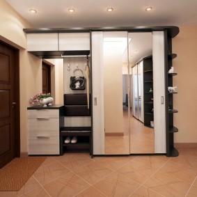 шкаф купе 40 см в прихожую фото дизайн