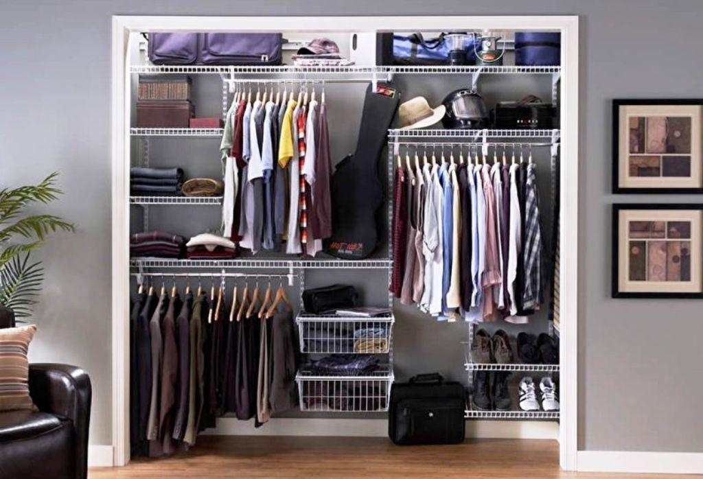 варианты гардеробной комнаты фото