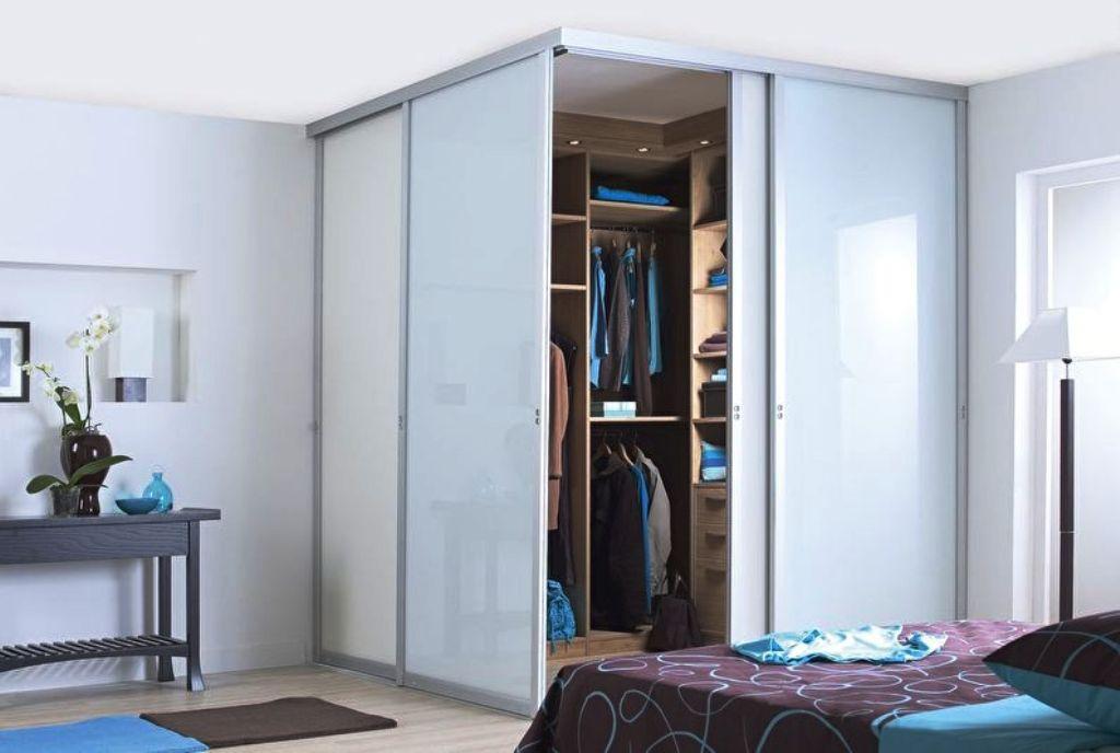 варианты гардеробной в спальне фото идеи