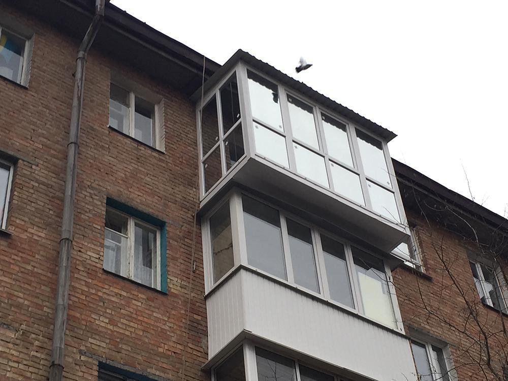 вынос от плиты расширение балкона