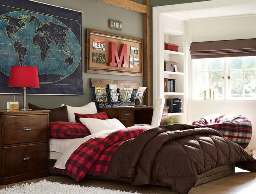 Декор комнаты подростка в американском стиле