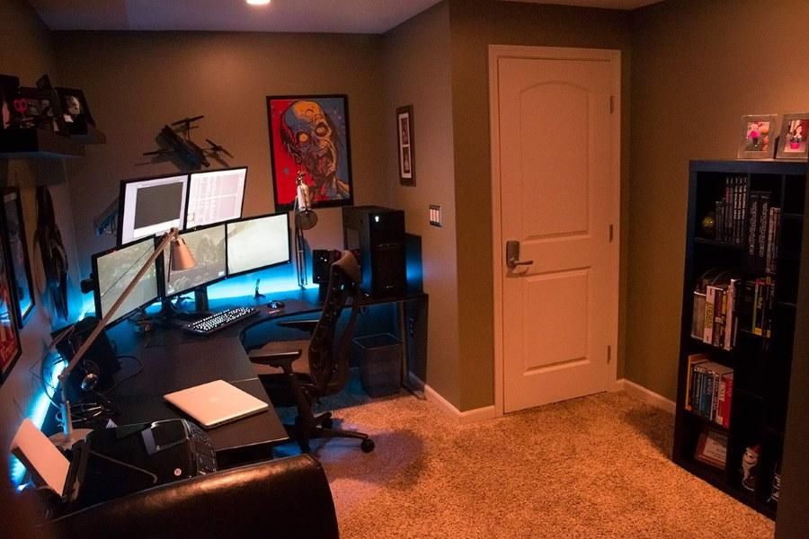 Декор комнаты для геймера подростка