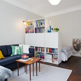 спальня и детская в одной комнате дизайн