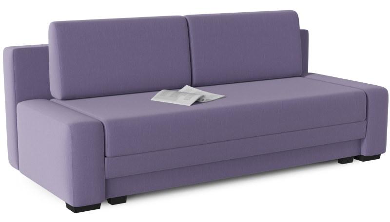 Тканевый раскладной диван еврокнижка