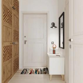 дизайн узкого коридора скандинавский стиль