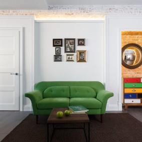 двери в зал и гостиную