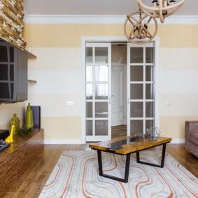 двери в зал и гостиную дизайн идеи