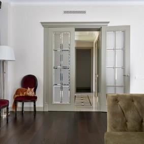 двери в зал и гостиную идеи дизайна
