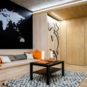 двери в зал и гостиную идеи декора