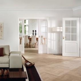 двери в зал и гостиную идеи оформление
