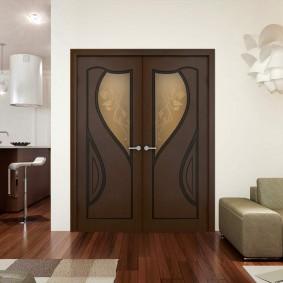 двери в зал и гостиную варианты фото