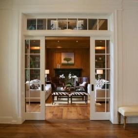 двери в зал и гостиную фото варианты