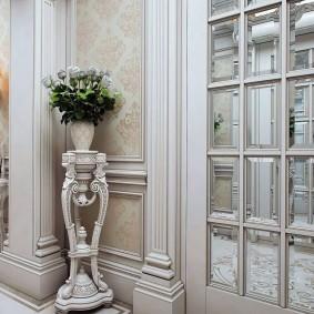 двери в зал и гостиную виды