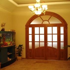 двери в зал и гостиную виды фото