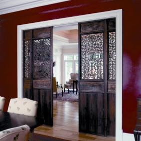 двери в зал и гостиную фото видов