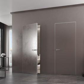 двери в зал и гостиную обзор