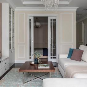 двери в зал и гостиную дизайн