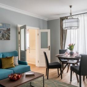 двери в зал и гостиную фото дизайна