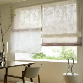 двойные шторы для зала идеи интерьера