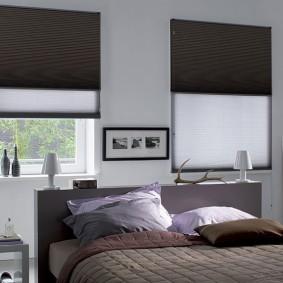 двойные шторы для зала оформление