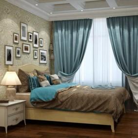 двойные шторы для зала идеи оформления