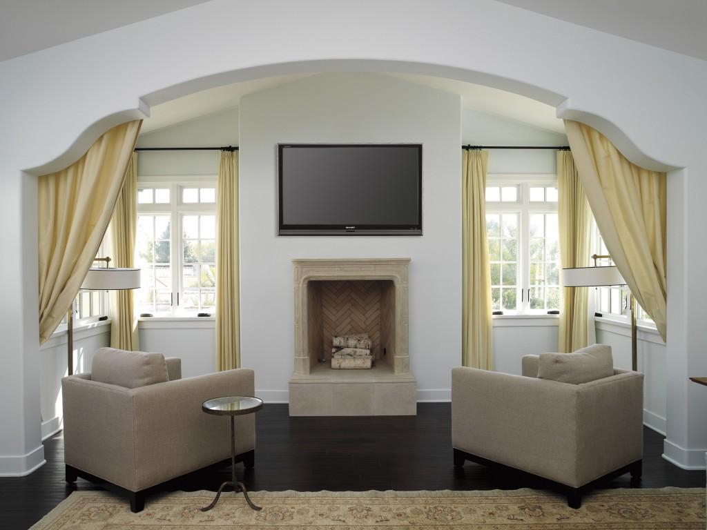 красивые арки из гипсокартона в гостиной фото кухня для