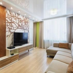 Светлая квартира в кирпичном доме