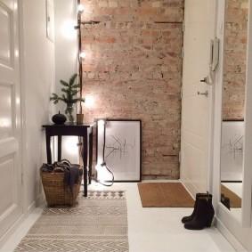 Декор коридора в скандинавском стиле