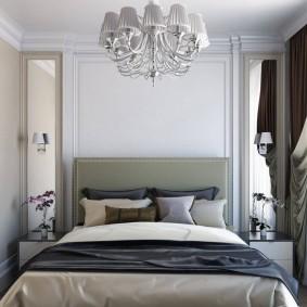 Уютная спальня в малогабаритной квартире