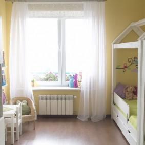Уютная детская комната в панельной хрущевке