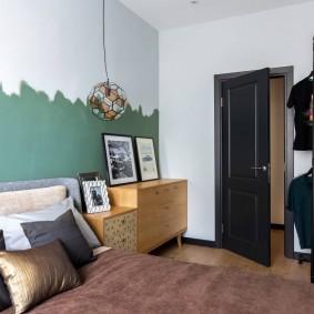 Модная спальня для молодого человека