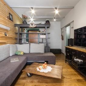 Деревянный декор в дизайне квартиры