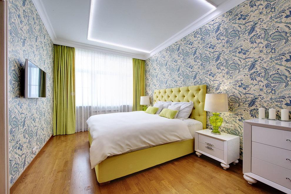 наполеоновских какой цвет обоев выбрать для спальни фото тепло стильно, кроме
