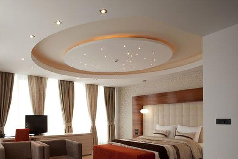красивые потолки из гипсокартона фотогалерея того