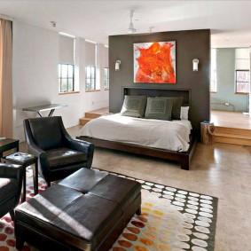 Стильный интерьер однокомнатной квартиры