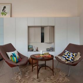 Удобные стулья с мягкими спинками