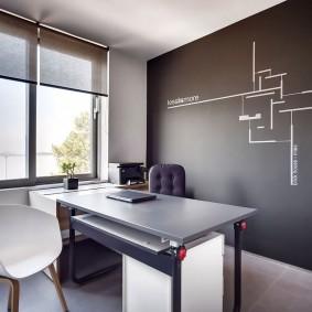Стол-трансформер в домашнем кабинете