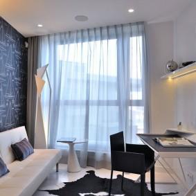Интерьер кабинета в современной квартире