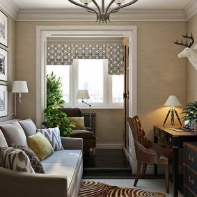 Декор кабинета в современном стиле