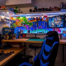 Рабочий стол компьютерного геймера