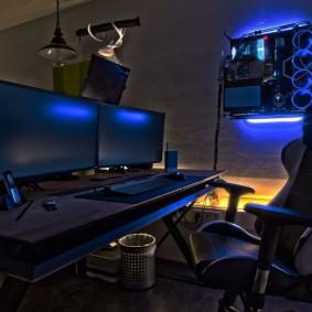 Рабочее место компьютерного геймера