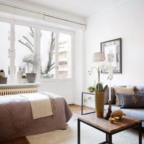 Скандинавский интерьер в современной квартире