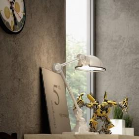 Настольный светильник в стиле ретро