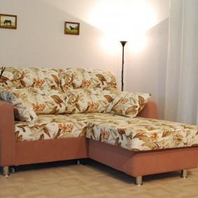 Раскладной диван небольшого размера