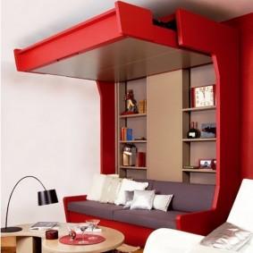Мебель-трансформер в маленькой гостиной