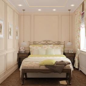 Уютная спальная комната в современном стиле