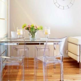 Кухонные стулья из качественного пластика