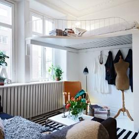 Двухъярусная квартира в панельном доме