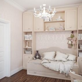 Корпусная мебель для маленькой комнаты